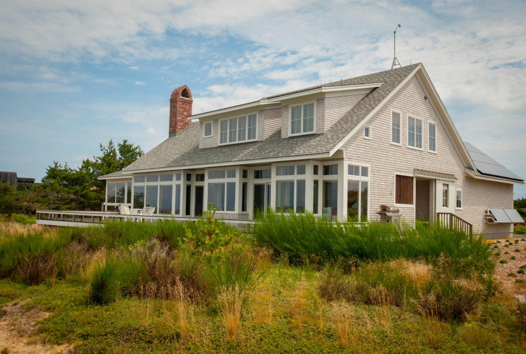 Cape cod beach house point one architects for Cape cod beach homes