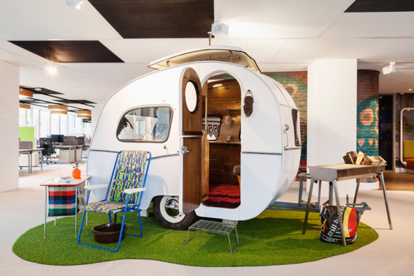 google innovative workplace meeting pod